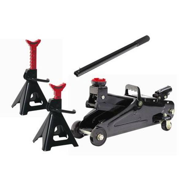 Larin Floor Jack & Jack Stand Combo – Only $59.99